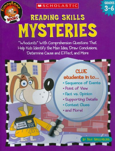9780439437646: Reading Skills Mysteries: Whodunits with Comprehension Questions That Help Kids Identify the Main Idea, Draw Conclusions, Determine Cause and Ef (Funnybone Books)