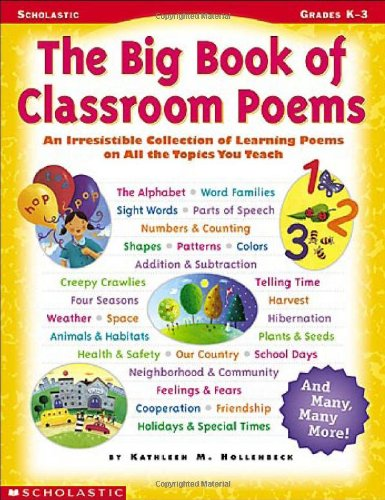 9780439438261: The Big Book Of Classroom Poems
