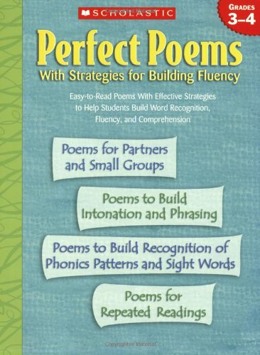 9780439438315: Perfect Poems: With Strategies for Building Fluency (Grades 3-4)