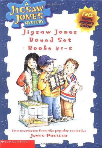 9780439438377: Jigsaw Jones Boxed Set, Books 1-5