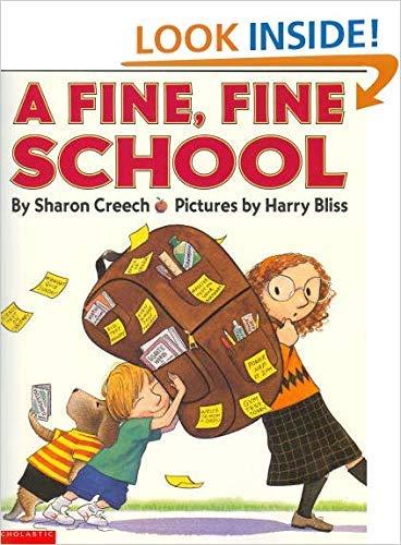 9780439442312: A Fine, Fine School