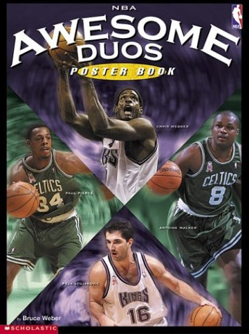 9780439443005: Nba Awesome Duos Poster Book