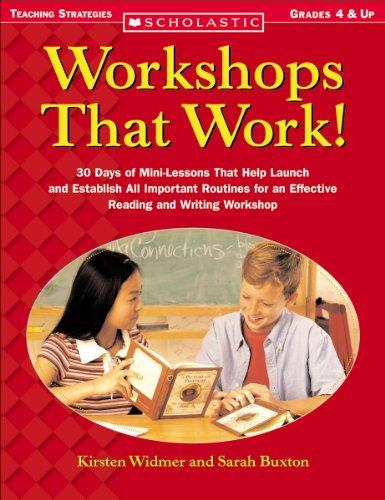 9780439444064: Workshops That Work!