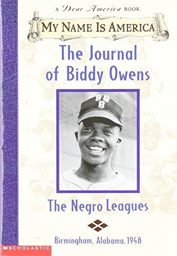 9780439445726: My Name Is America: The Journal of Biddy Owens (A Dear America Book)