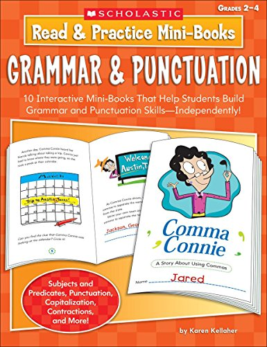 9780439453417: Read & Practice Mini-Books: Grammar & Punctuation, Grades 2-4: 10 Interactive Mini-Books That Help Students Build Grammar and Punctuation Skills--Inde