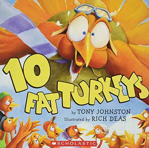 9780439459488: 10 Fat Turkeys