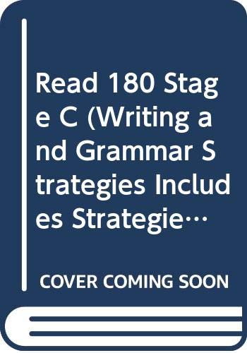 9780439460026: Read 180 Stage C (Writing and Grammar Strategies Includes Strategies for Passing Exit Exams)