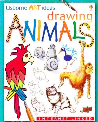 9780439460668: Drawing Animals (Usborne Art Ideas)