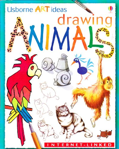 9780439460668: Drawing Animals (Usborne Art Ideas)