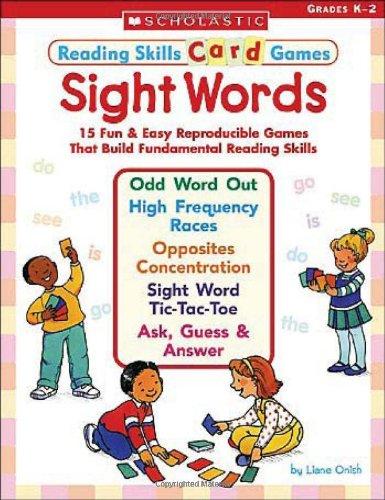 9780439465960: Sight Words: 15 Fun & Easy Reproducible Games That Build Fundamental Reading Skills (Reading Skills Card Games)