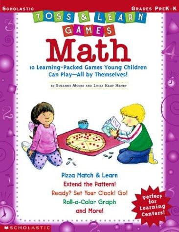 9780439471169: Toss & Learn Games - Math