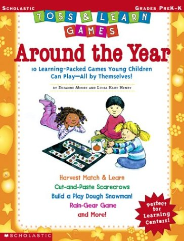 9780439471176: Toss & Learn Games: Around the Year