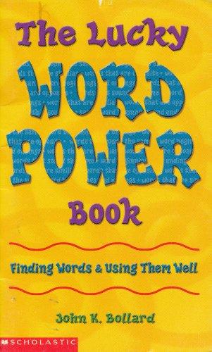 The Lucky Word Power Book: Finding Words: Bollard, John K.
