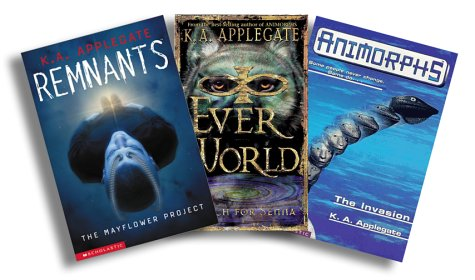 9780439484534: Explore the World's of K.A. Applegate: Animorphs, 1: The Invasion, Everworlds, 1: Search for Senna, Remnants, 1: The Mayflower Project