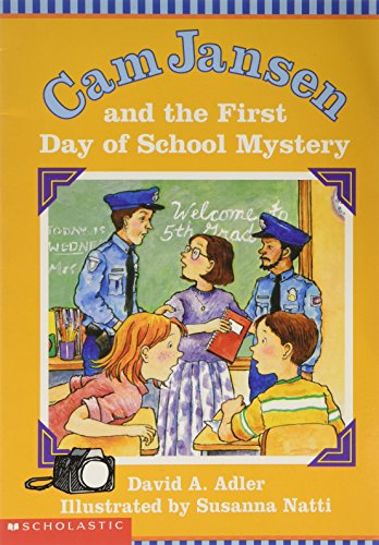 9780439489201: Cam Jansen and the First Day of School Mystery
