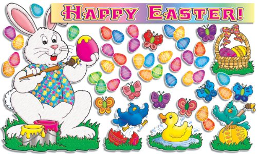 9780439492331: Happy Easter! Bulletin Board