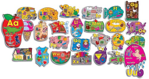 9780439492836: Big Shapes Alphabet!: Bulletin Board Set