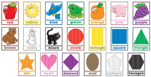 9780439499798: Colors and Shapes! Bulletin Board