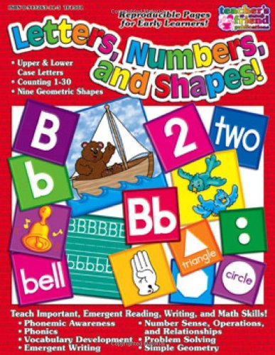 9780439500050: Letters, Numbers & Shapes!
