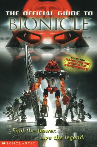 9780439501156: The Official Guide to Bionicle