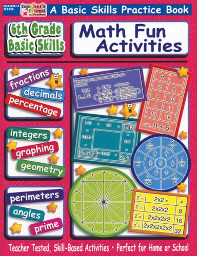9780439502016: Sixth Grade Basic Skills Math Fun Activities