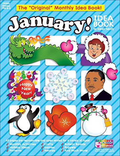 9780439503709: January Monthly Idea Book (The