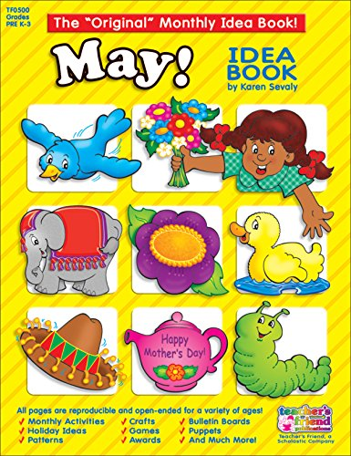 9780439503747: May Monthly Idea Book (The