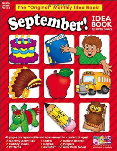 9780439503778: September Monthly Idea Book (The