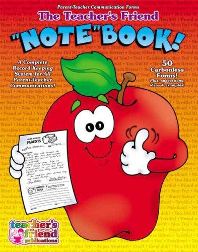 """9780439504041: Teacher's Friend """"Note"""" Book"""