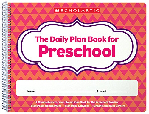 9780439504249: The Daily Plan Book for Preschool