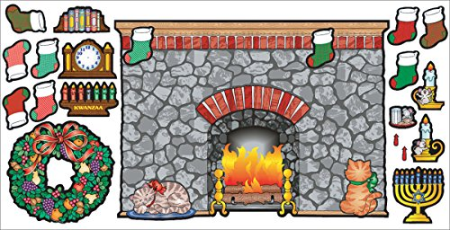 9780439509701: Home and Holiday Hearth! Bulletin Board