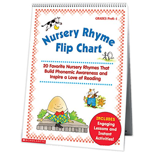 9780439513821: Nursery Rhyme Flip Chart: 20 Favorite Nursery Rhymes That Build Phonemic Awareness and Inspire a Love of Reading
