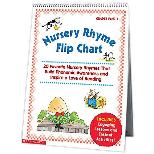 9780439513821: Nursery Rhyme Flip Chart: 20 Favorite Nursery Rhymes That Build Phonemic Awareness and Inspire a Love of Reading