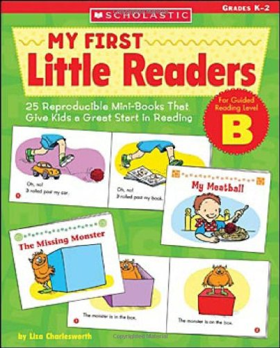 9780439517584: My First Little Readers - Level B: 25 Reproducible Mini-Books That Give Kids a Great Start in Reading