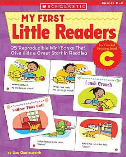 9780439517607: My First Little Readers: Level C: 25 Reproducible Mini-Books in English That Give Kids a Great Start in Reading