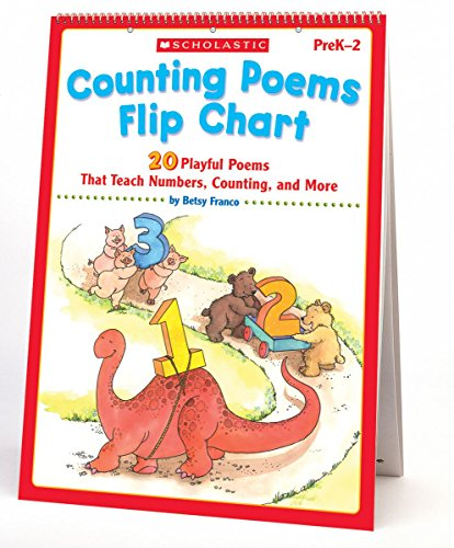 9780439517614: Counting Poems Flip Chart: 20 Playful Poems That Teach Numbers, Counting, and More (Teaching Resources)