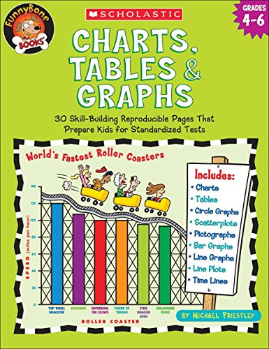 9780439517751: Charts, Tables & Graphs, Grades 4-6 (Funnybone Books)