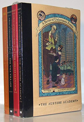 9780439522137: A Series of Unfortunate Events Pack (Books 5-8) (Series of Unfortunate Events)