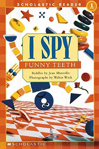 9780439524728: I Spy Funny Teeth: Scholastic Reader Level 1