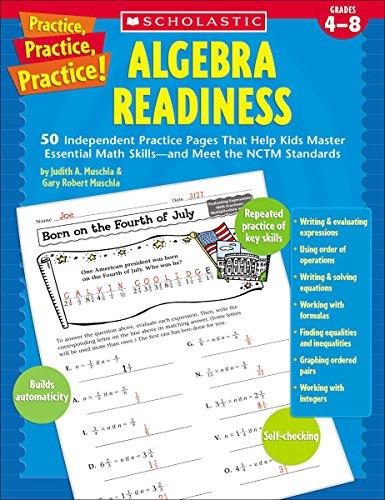 9780439529617: Practice, Practice: Algebra Readiness, Grades 4-8