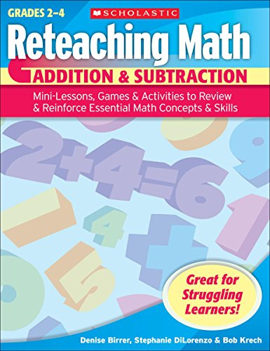 9780439529648: Addition & Subtraction: Mini-lessons, Games, & Activities to Review & Reinforce Essential Math Concepts & Skills