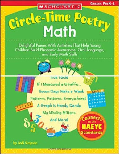 9780439529761: Circle-Time Poetry: Math: Delightful Poems With Activities That Help Young Children Build Phonemic Awareness, Oral Language, and Early Math Skills (Teaching Resources)