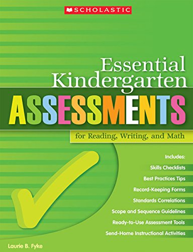 9780439529785: Essential Kindergarten Assessments for Reading, Writing, and Math