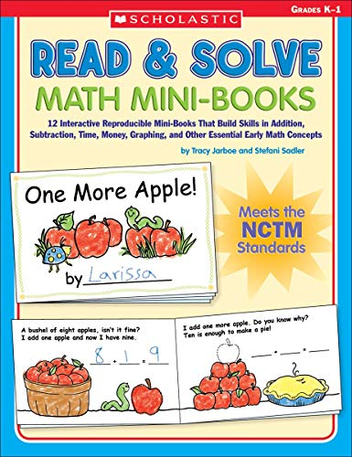 9780439529792: Read & Solve Math Mini-Books: 12 Interactive Reproducible Mini-Books That Build Skills in Addition, Subtraction, Time, Money, Graphing, and Other Essential Early Math Concepts