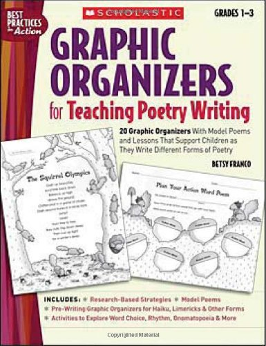 9780439531511: Graphic Organizers for Teaching Poetry Writing: 20 Graphic Organizers With Model Poems and Lessons That Support Children as They Write Different Forms of Poetry (Best Practices in Action)