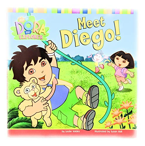 9780439539296: Meet Diego! (Nick Jr. Dora the Explorer)