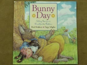 9780439539364: Bunny day: Telling time from breakfast to bedtime