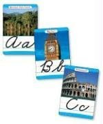 9780439542579: Around the World Cursive Alphabet Set: 26 Ready-to-Display Letter Cards With Fabulous Photos of Extraordinary Natural Wonders, Ancient Sites, Architecture, and More (Bulletin Boards)