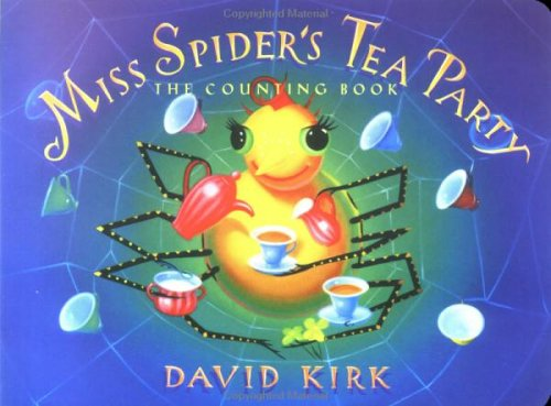 9780439543309: Miss Spider's Tea Party; the Counting Book (Sunny Patch Library)