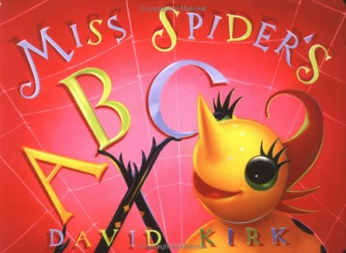 9780439543316: Miss Spider's ABC (David Kirk's Sunny Patch Library)